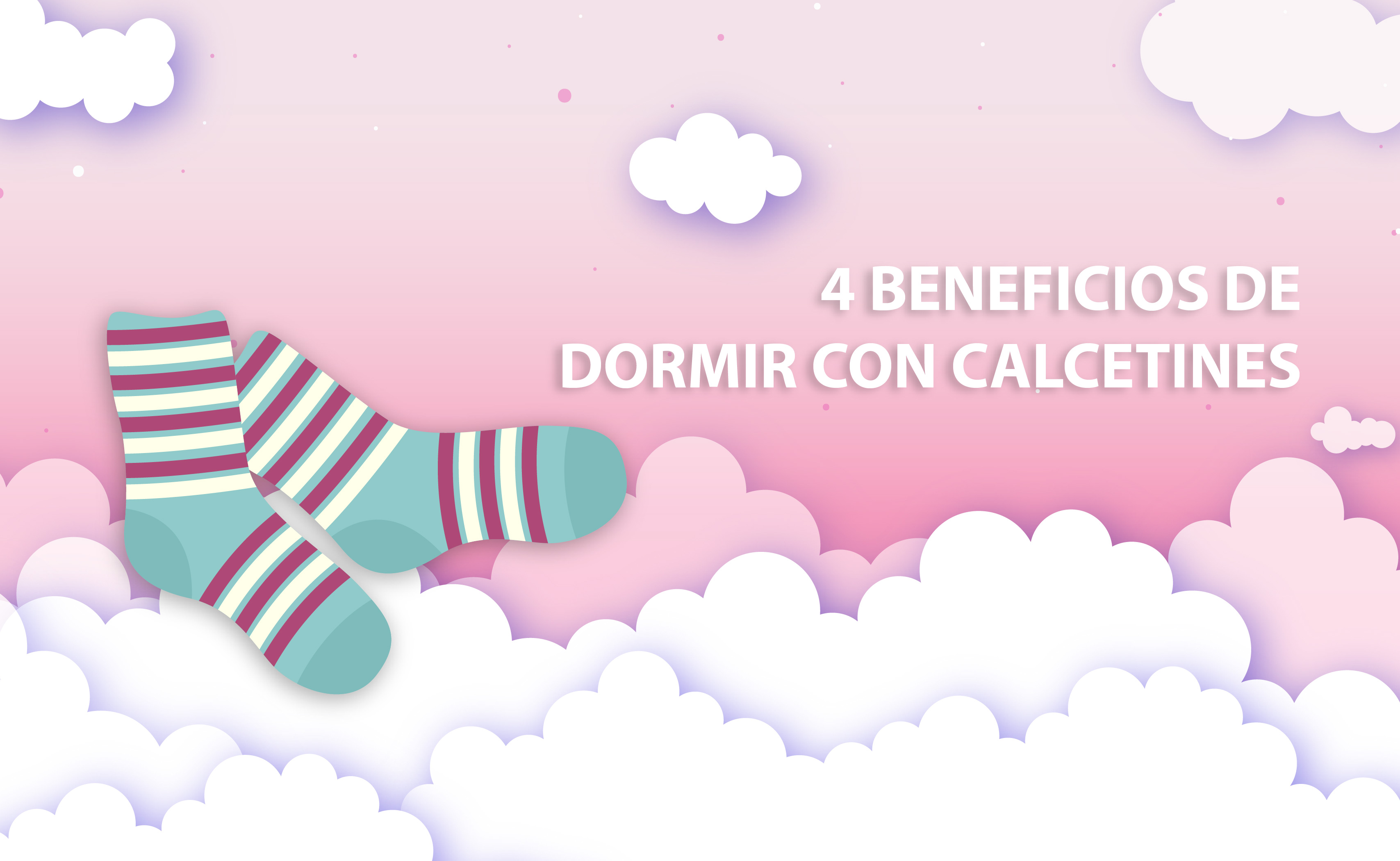 4 beneficios de dormir con calcetines